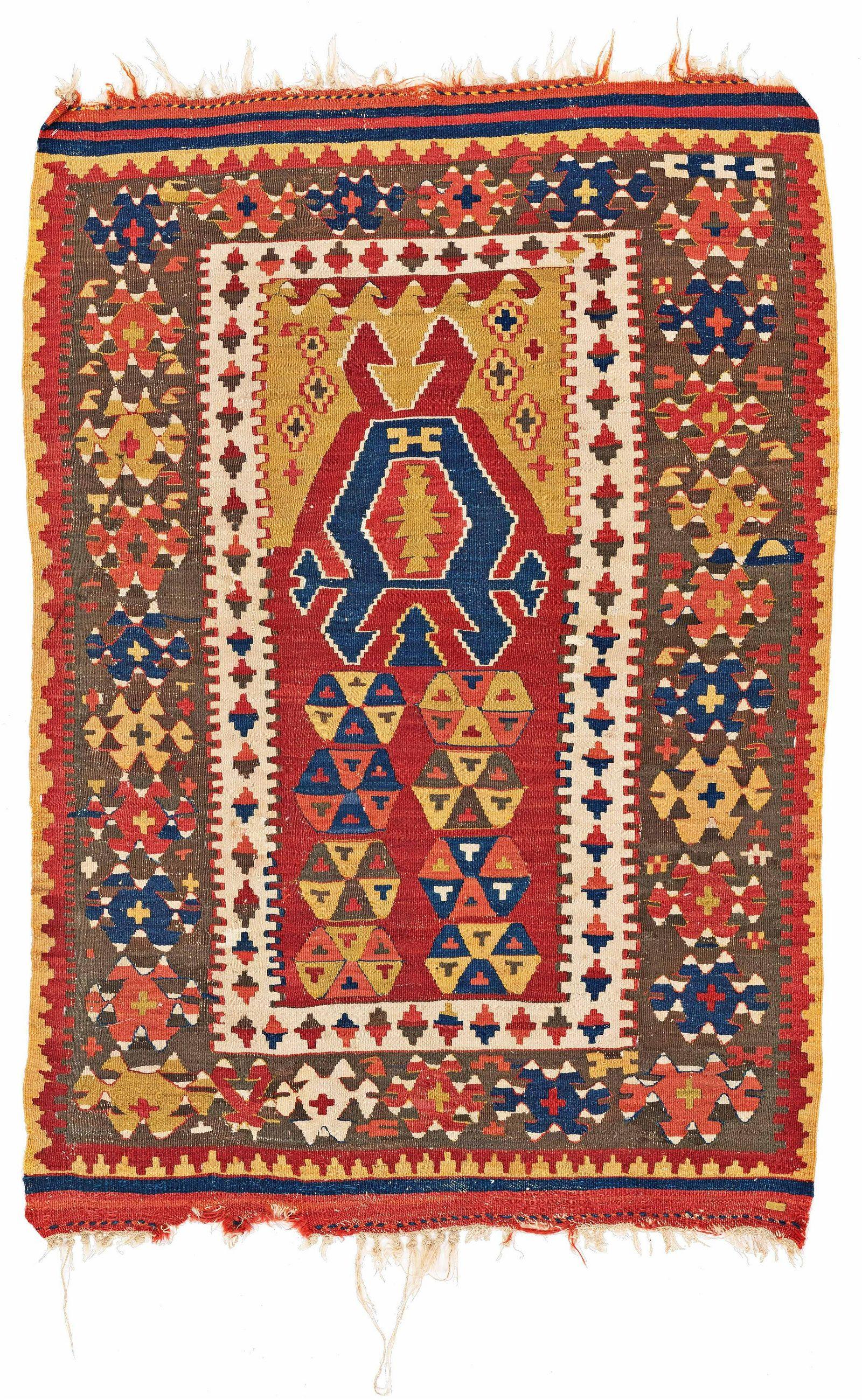 Small Konya Prayer Kilim