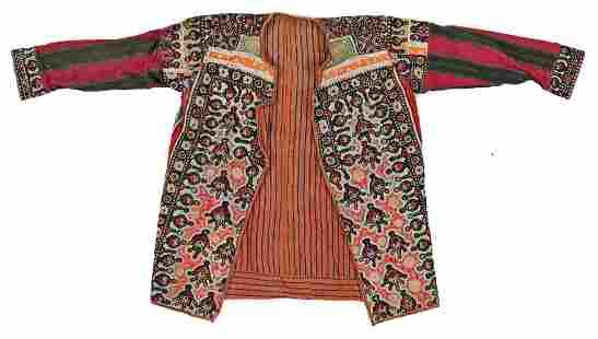 Embroidered Indian Vest