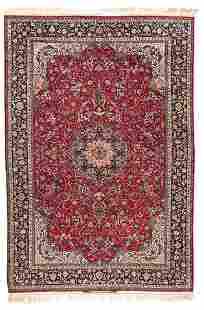 Signed Isfahan Serafian Carpet