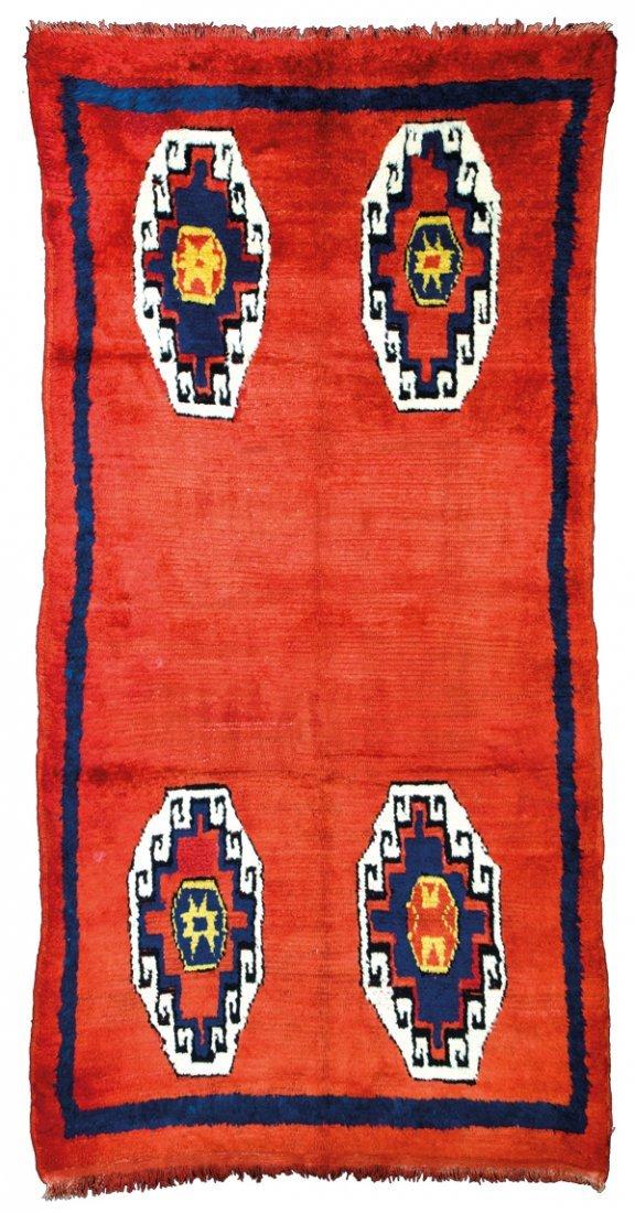 Yatak sleeping rug, Turkey circa 1910