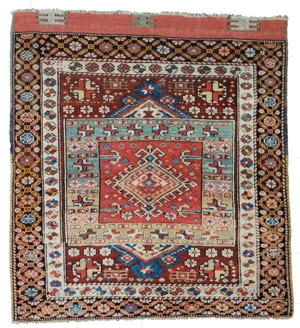 Bergama rug, Turkey circa 1860