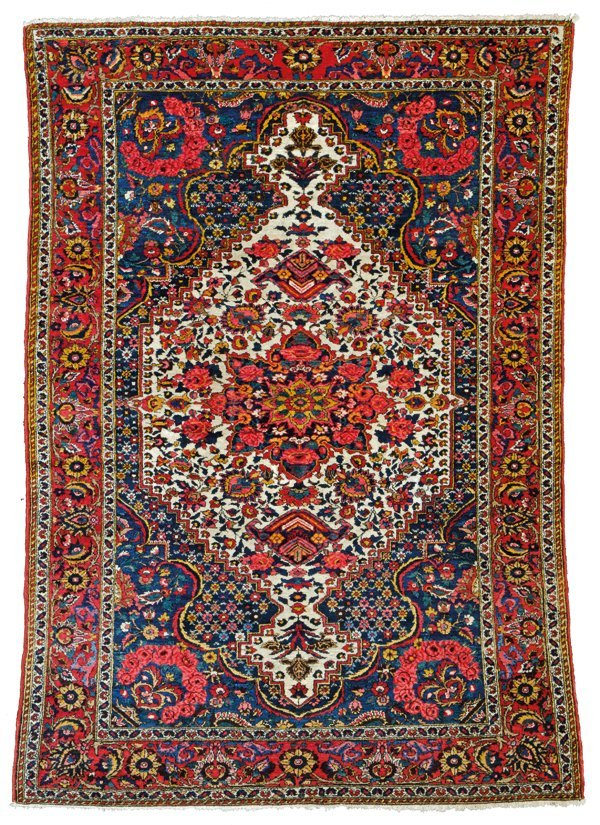 Baktiari rug, Persia circa 1920