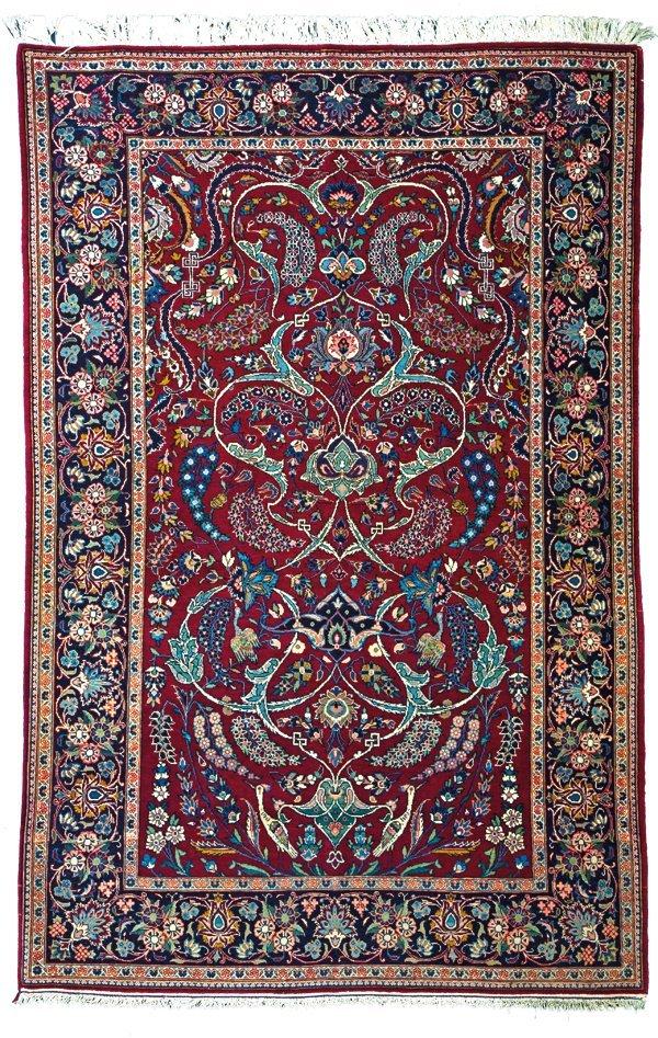 Keshan rug, Persia circa 1940