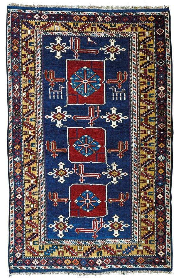 Karagashli rug, Caucasus circa 1850