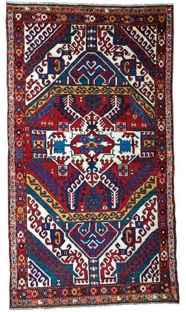 Kasim Ushag Kazak rug, Caucasus circa 1900