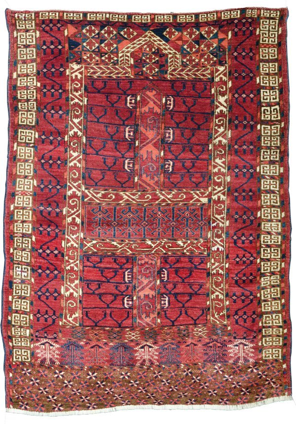 Tekke engsi, Turkmenistan circa 1860