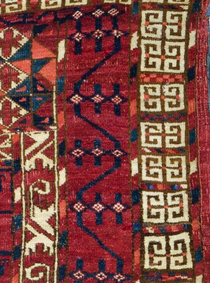 Tekke engsi, Turkmenistan circa 1860 - 4