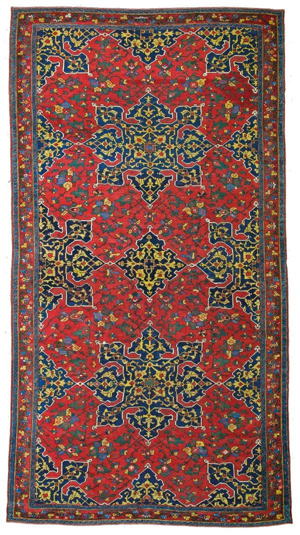 Star Oushak carpet, Turkey circa 1600