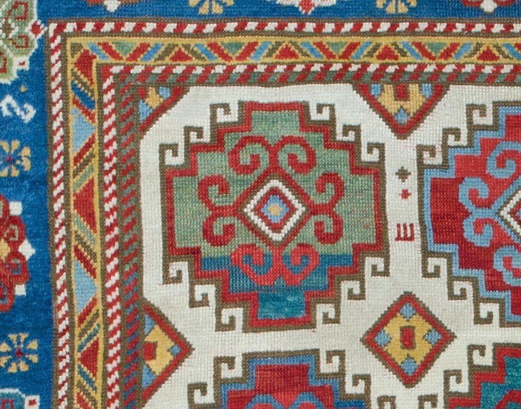 Kazak rug, Caucasus circa mid-19th century - 6