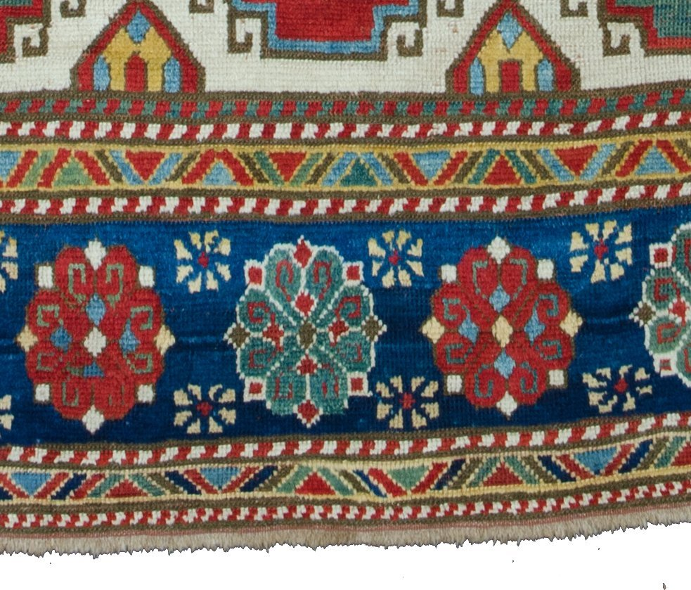 Kazak rug, Caucasus circa mid-19th century - 7