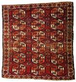 Saryk main carpet Turkmenistan pre 1800