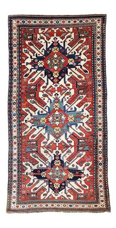 Eagle Kazak rug