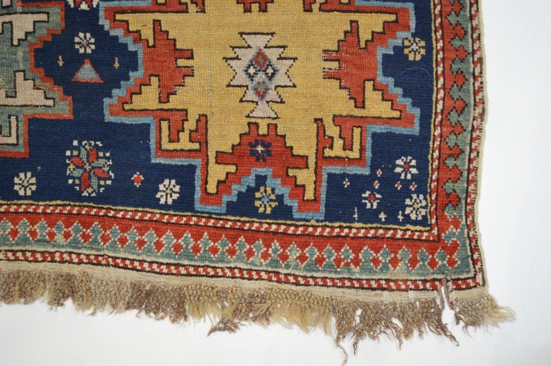 Lesghi star long rug inscribed - 2