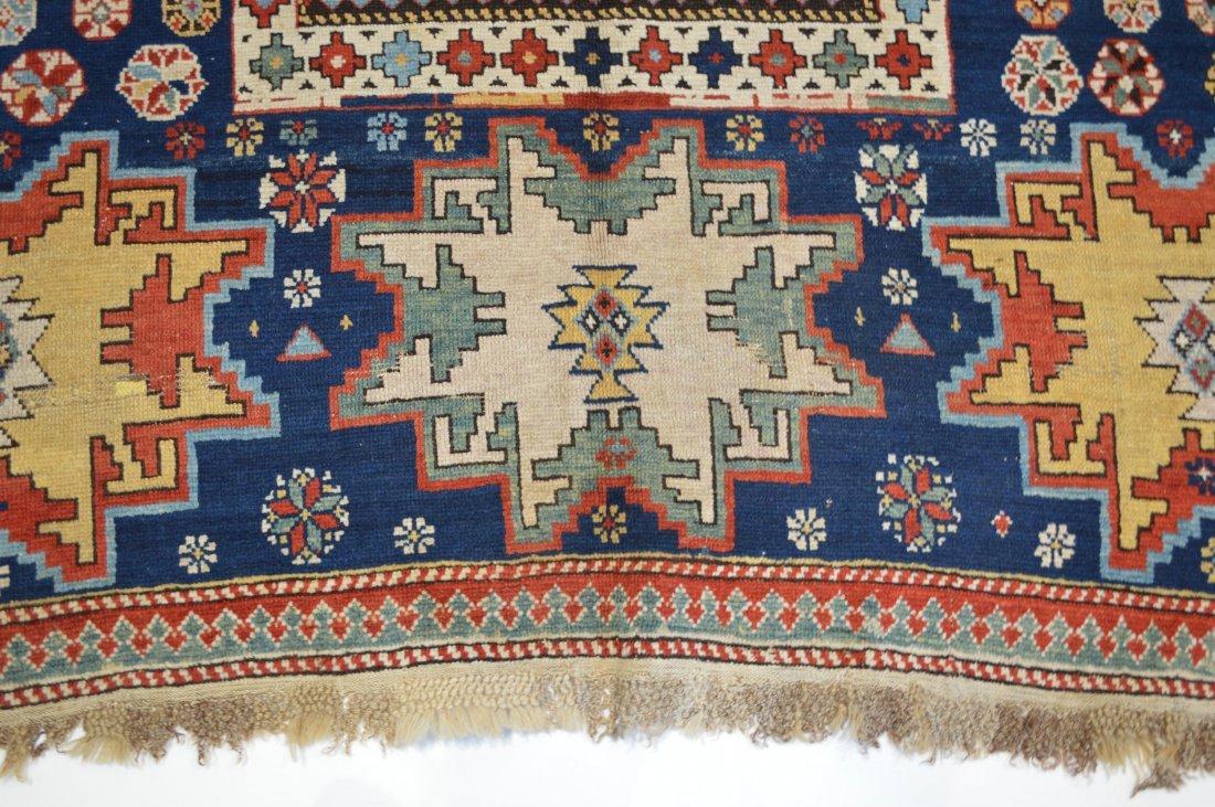 Lesghi star long rug inscribed - 3