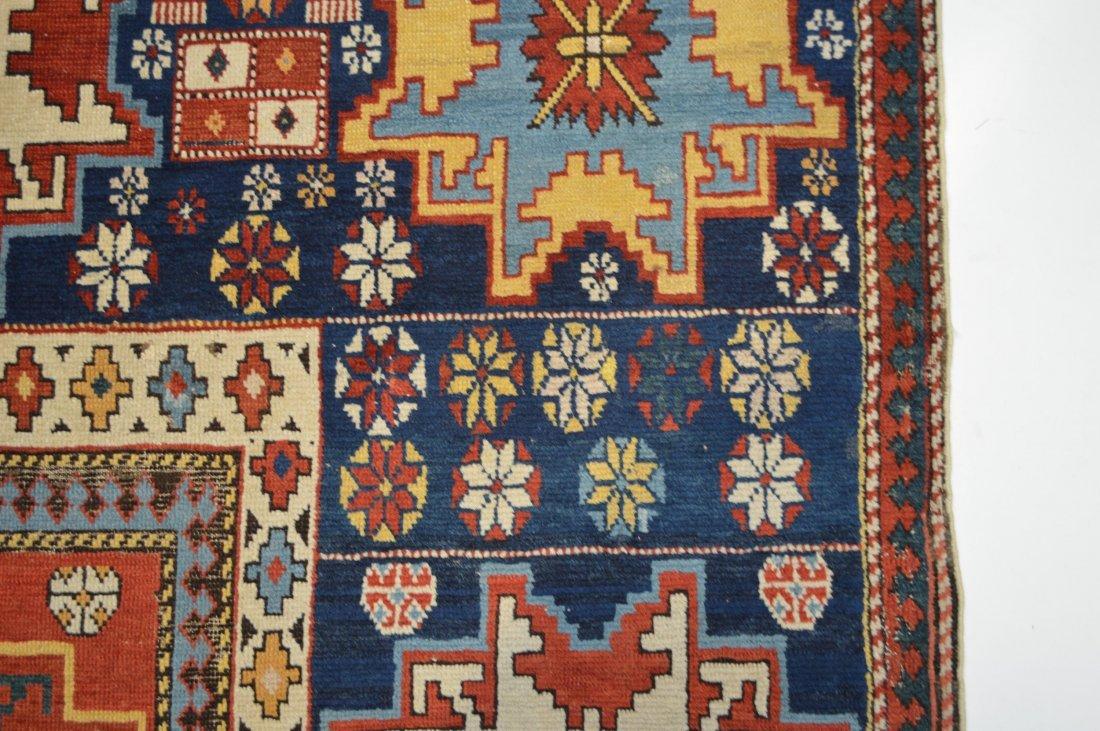 Lesghi star long rug inscribed - 7
