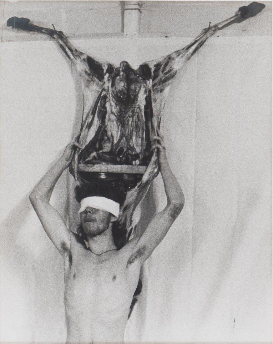 Hermann Nitsch * (1938 Wien) Aktionsfoto, 1976