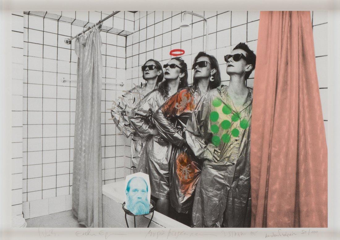 Lawrence Weiner * (1942 New York) DIE DAMEN und ein