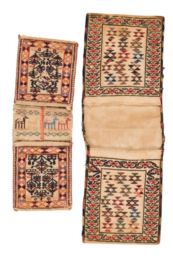 Two Gashgai Kilim Bags