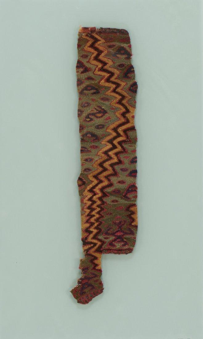 Nazca textile fragment
