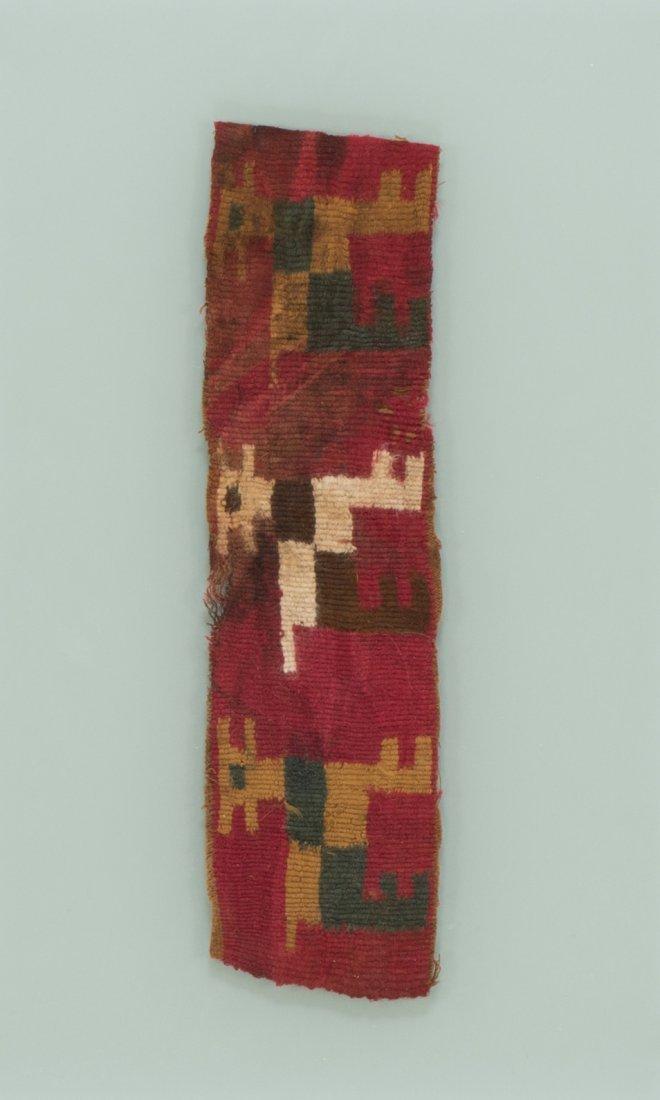 Lamas textile fragment