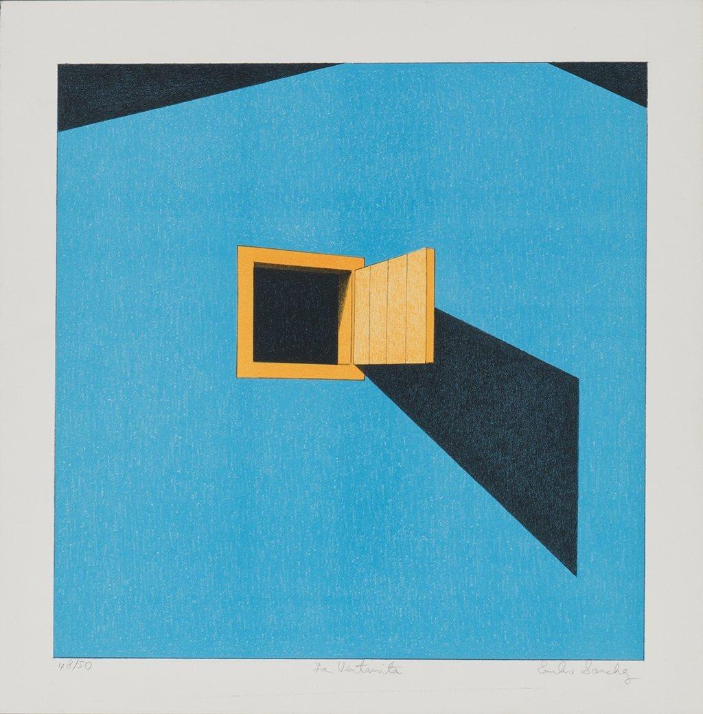 Emilio Sanchez * (1921 Camaguey/Kuba - 1999 New York)