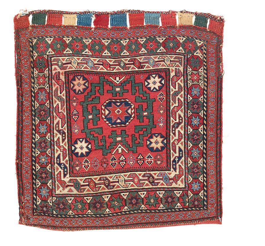 Two Shahsavan sumakh bags