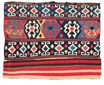 Shahsavan kilim mafrash panel