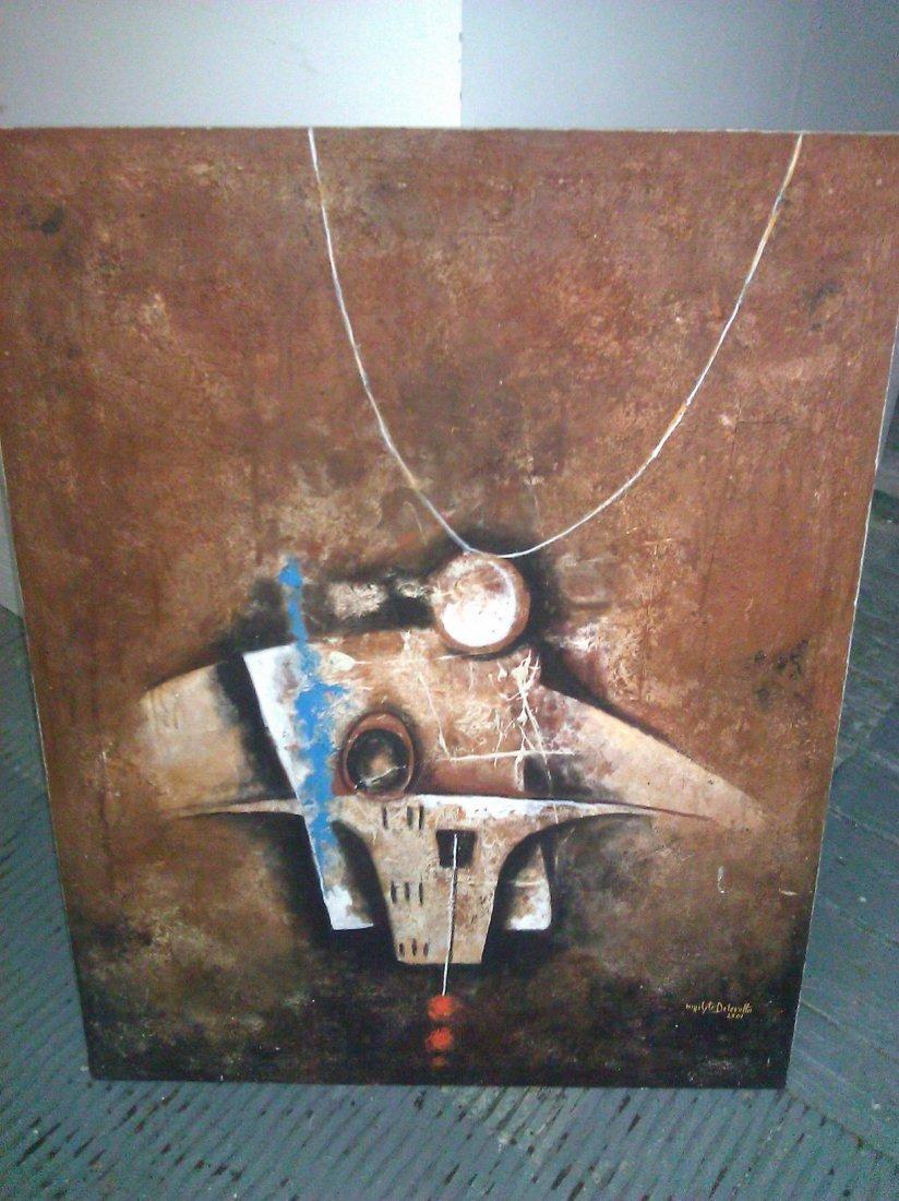 Hippolyte Delavolta – Oil on Canvas