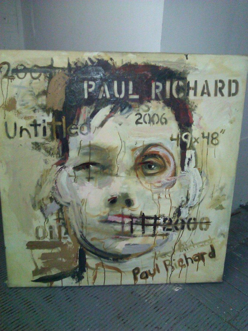 Paul Richard – Oil on Canvas