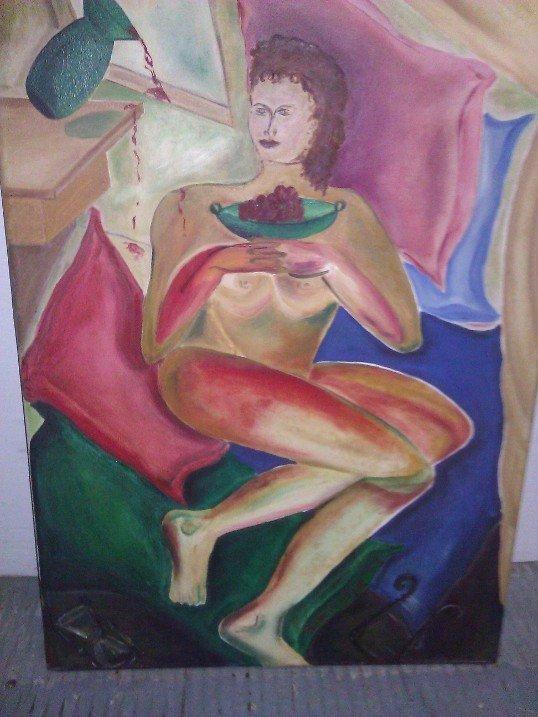 Jose Salazar – Oil on Canvas