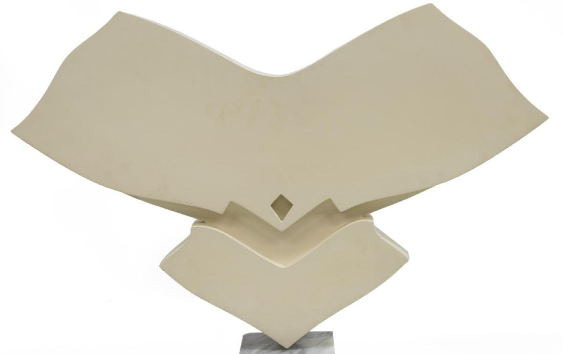 JACK YOUNGERMAN ABSTRACT SCULPTURE ON MARBLE BASE - 2