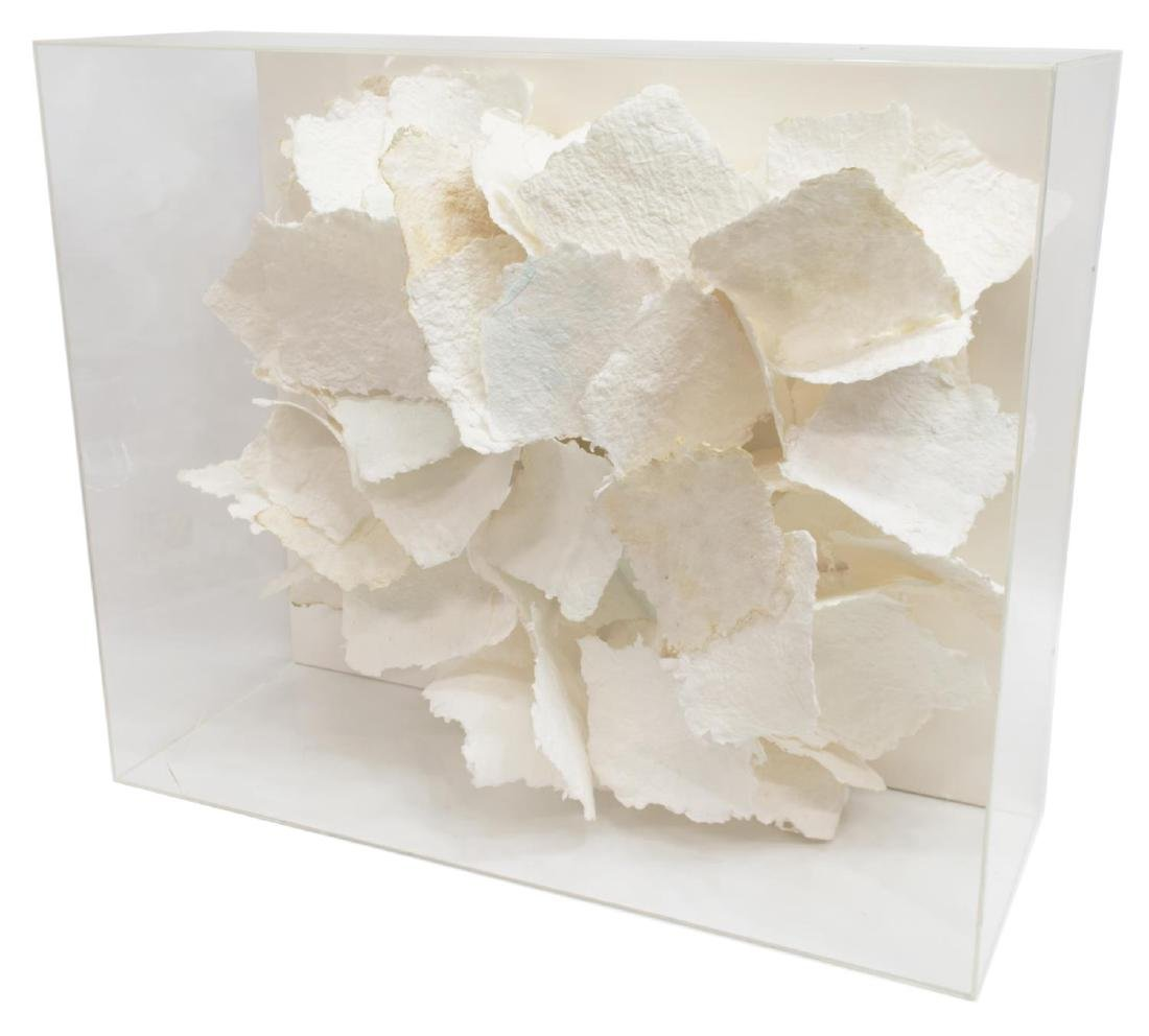HILDA THORPE ABSTRACT PAPER WALL SCULPTURE