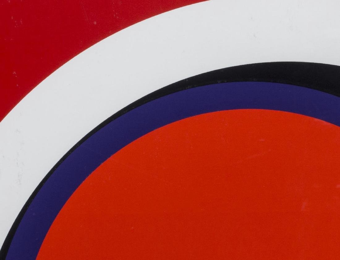 GENEVIEVE CLAISSE (FRENCH B 1936) OP ART SERIGRAPH - 2