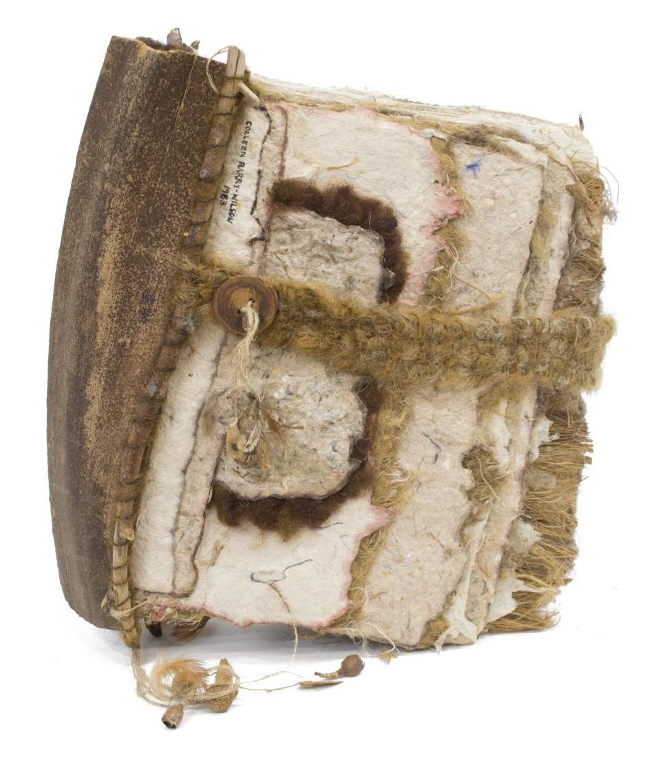 COLLEEN BARRY-WILSON, MIXED-MEDIA SCULPTURE BOOK - 2