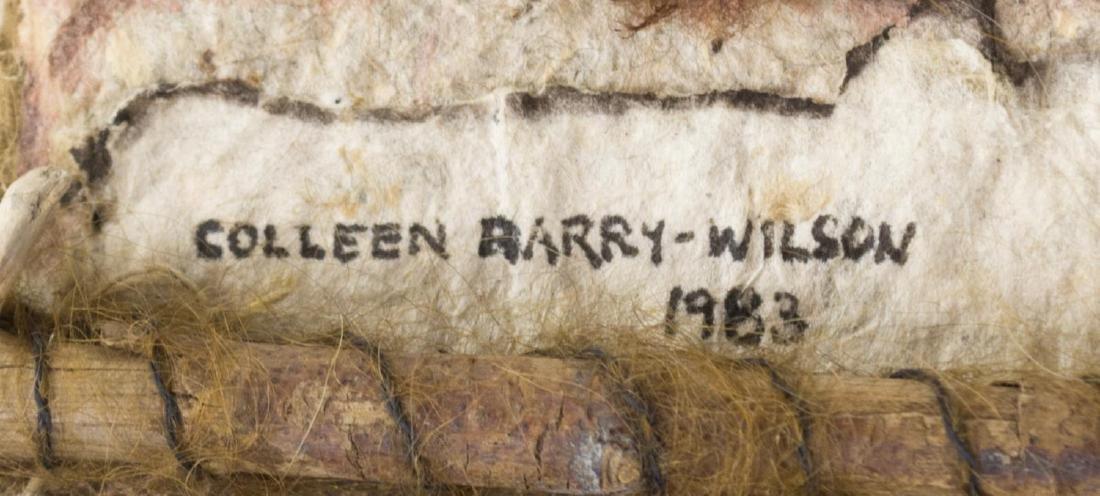 COLLEEN BARRY-WILSON, MIXED-MEDIA SCULPTURE BOOK - 3