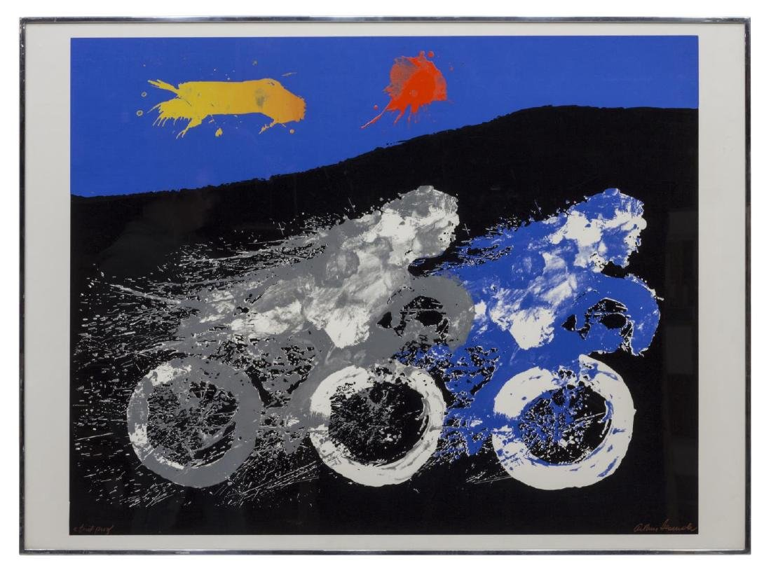 ARTHUR SECUNDA (B. 1927) ARTIST PROOF, JOY RIDE - 2