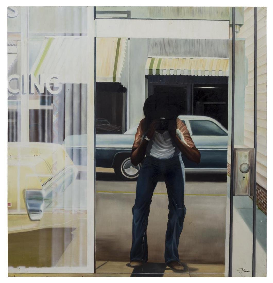 """GREGORY JONES PAINTING, """"LOOKING IN AND OUT"""""""