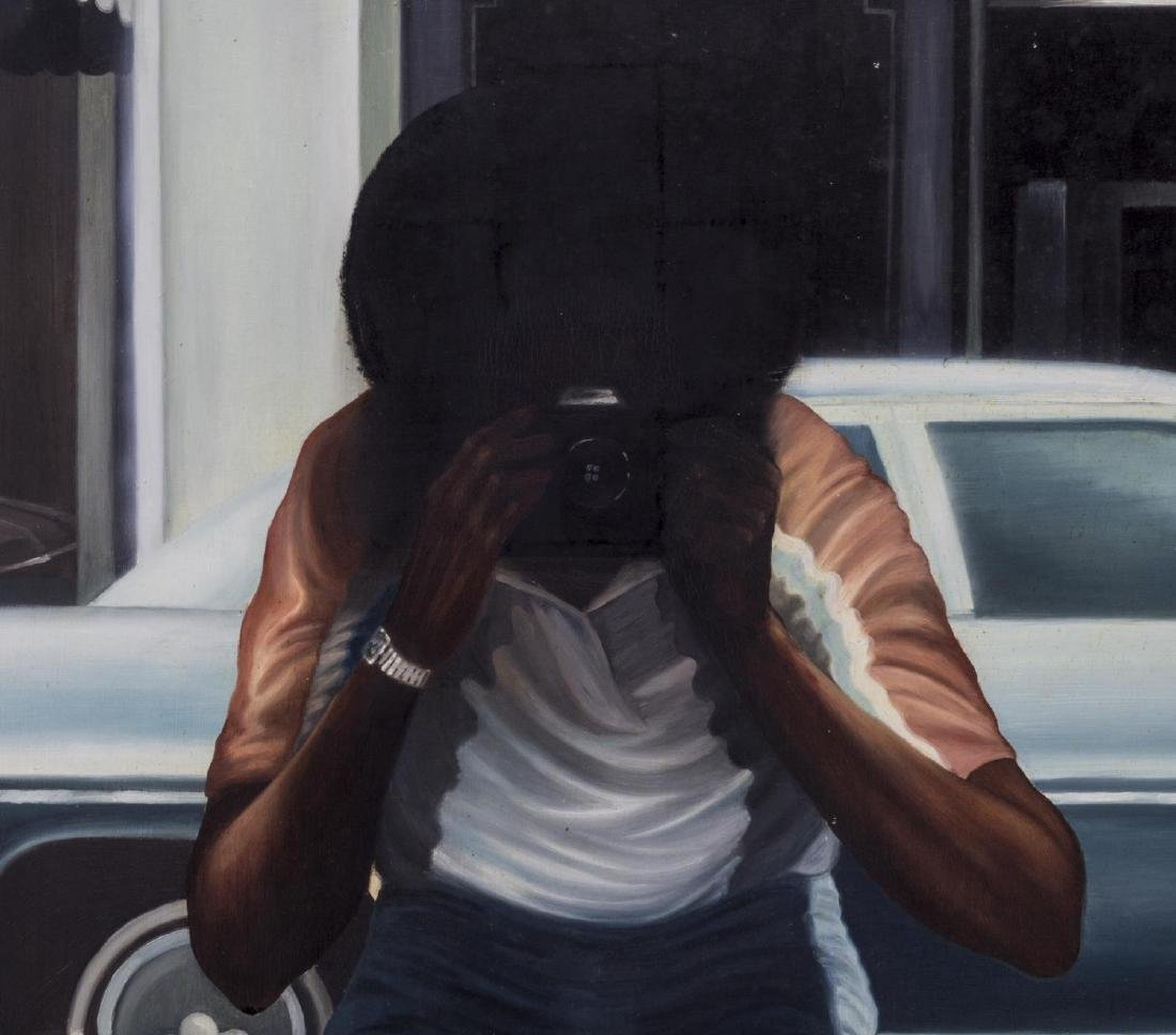 """GREGORY JONES PAINTING, """"LOOKING IN AND OUT"""" - 2"""