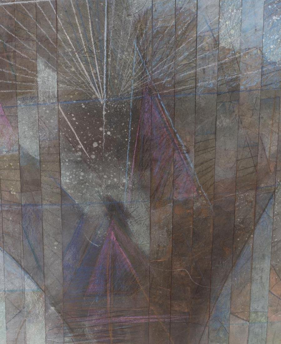 DAVID JANSHESKI (B. 1954) COLLAGE PAPER ARTWORK - 2