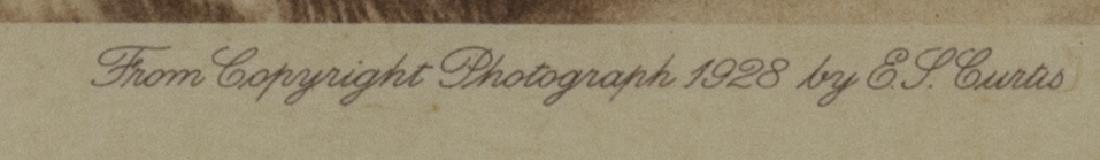 EDWARD S. CURTIS PHOTOGRAVURE, FAMILY GROUP NOATAK - 4