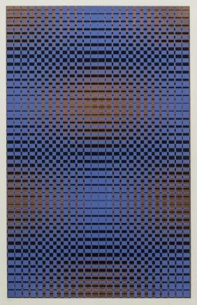 ARNOLD GOLDBERG (HOUSTON) GEOMETRIC SCREENPRINT