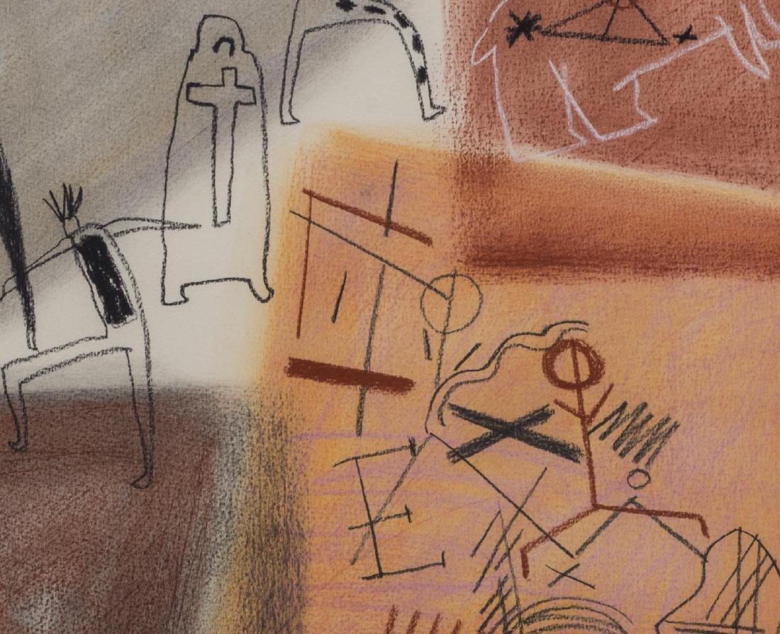 JAUNE QUICK-TO-SEE SMITH (B. 1940) EL MORRO #66 M - 2