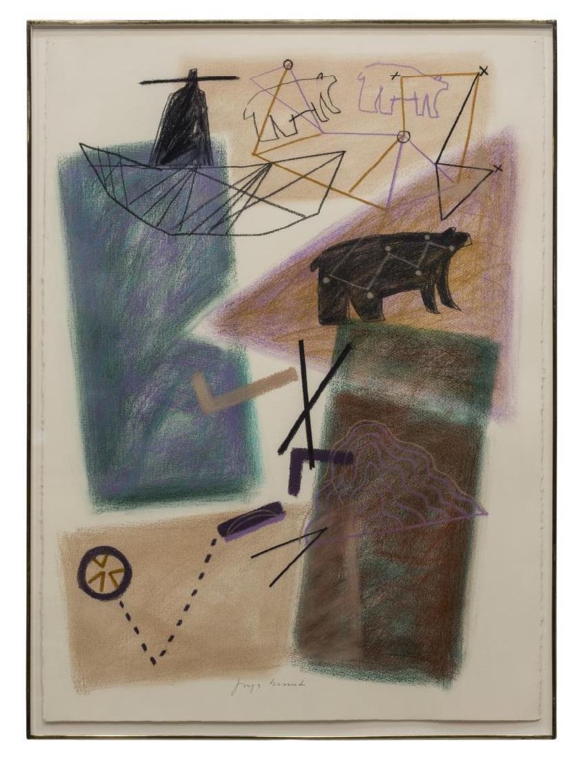 JAUNE QUICK-TO-SEE SMITH (B. 1940) BLACK BEAR