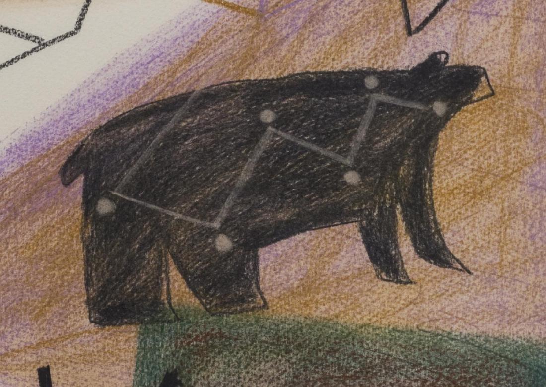 JAUNE QUICK-TO-SEE SMITH (B. 1940) BLACK BEAR - 2