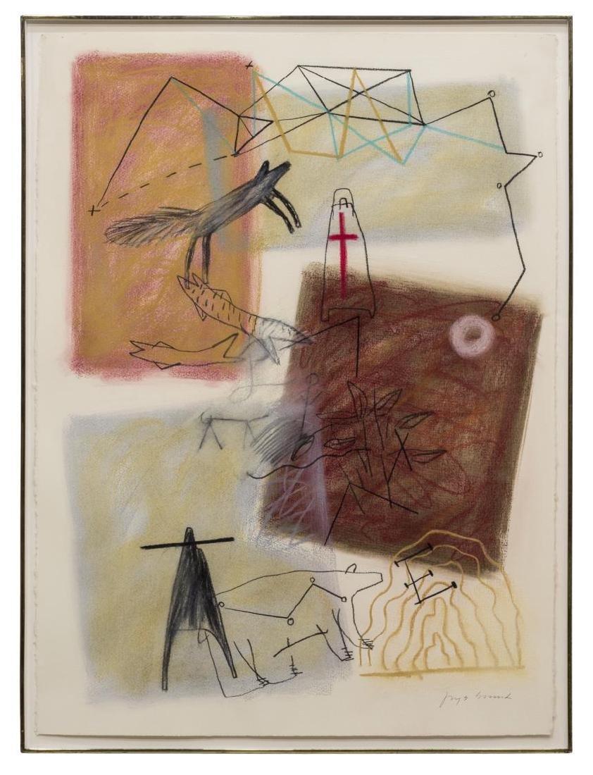 JAUNE QUICK-TO-SEE SMITH (B. 1940) EL MORRO (RC)