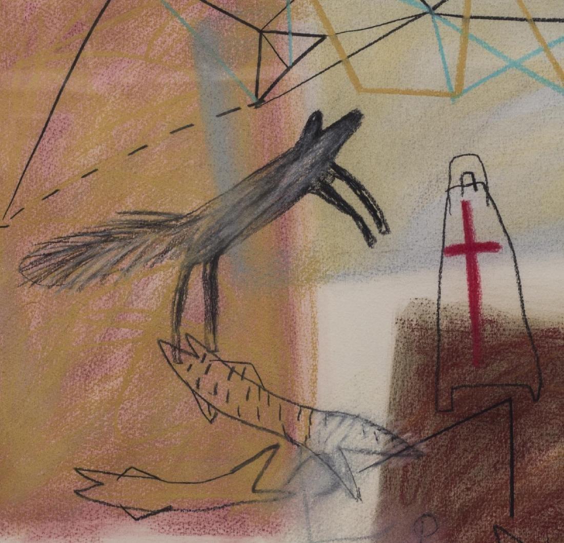 JAUNE QUICK-TO-SEE SMITH (B. 1940) EL MORRO (RC) - 2