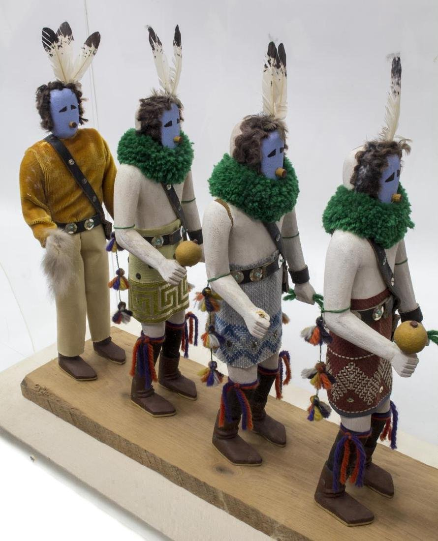 NATIVE AMERICAN NAVAJO YEIBECHAI CEREMONIAL DOLLS - 4