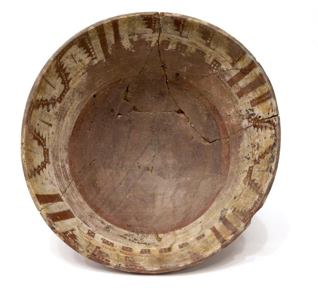 POST-CLASSIC PRECOLUMBIAN TRIPOD BOWL, MEXICO - 3
