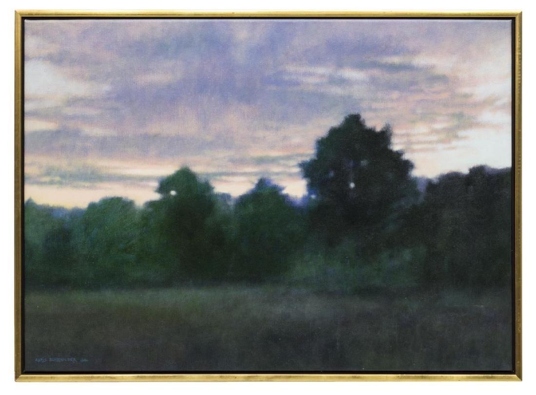 """CHRIS BURKHOLDER (TEXAS B. 1952), """"VIEW WEST"""""""