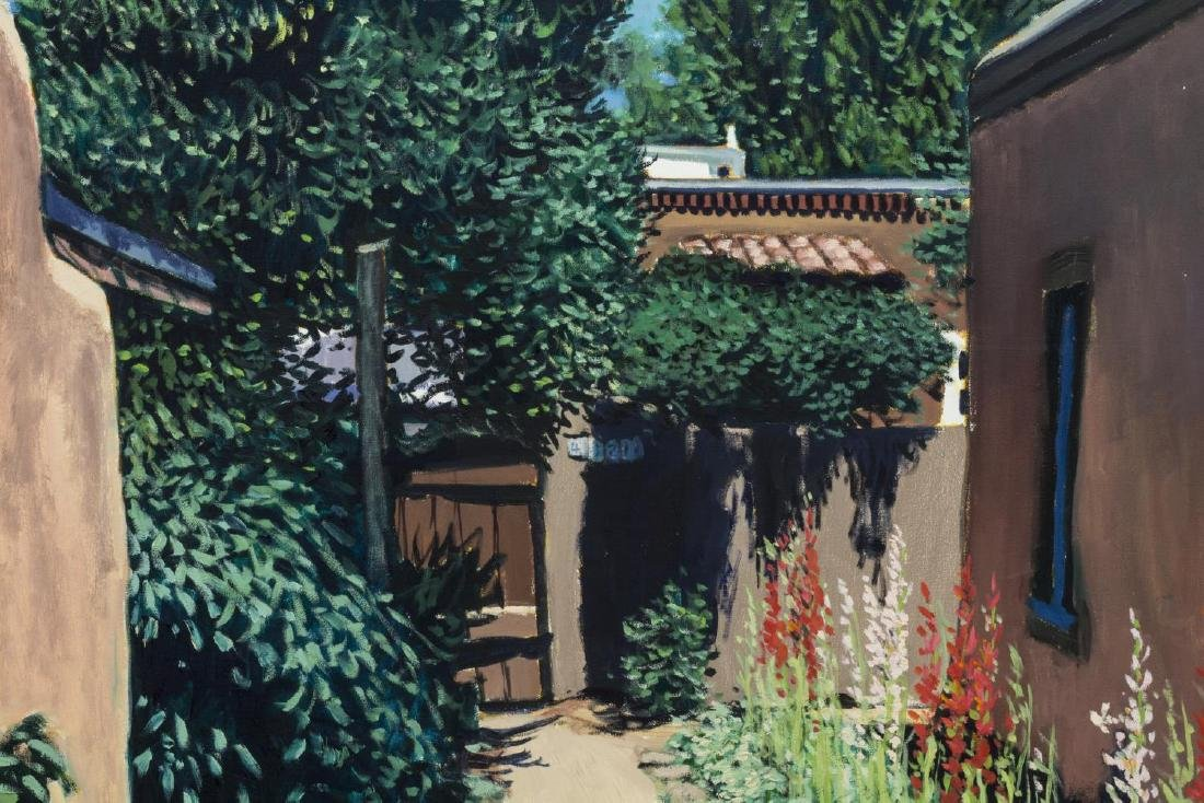 CHRISTOPHER GERLACH (1952) GARDEN PATH PAINTING - 2